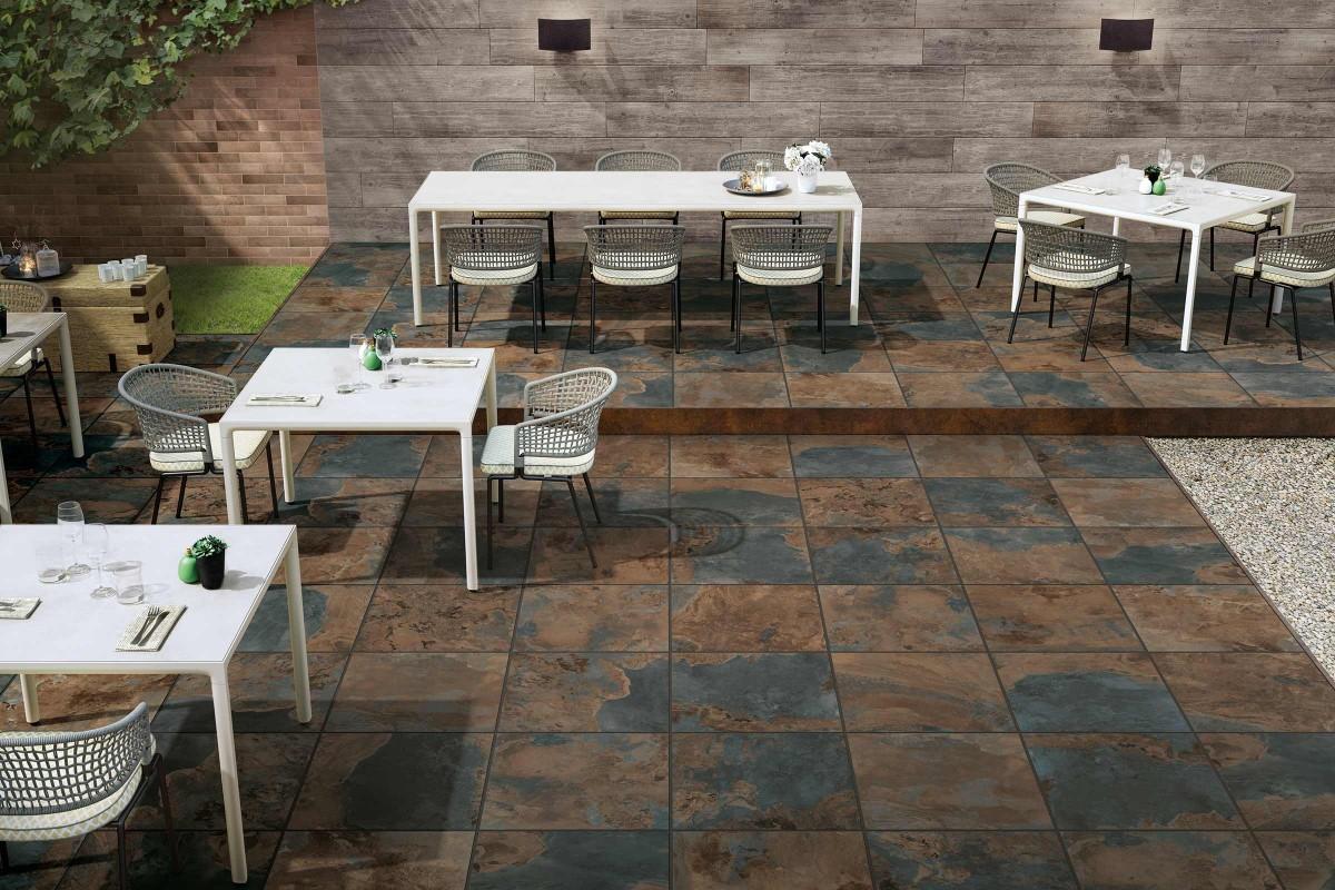 Inspiration Terrassenplatten Feinsteinzeug 10