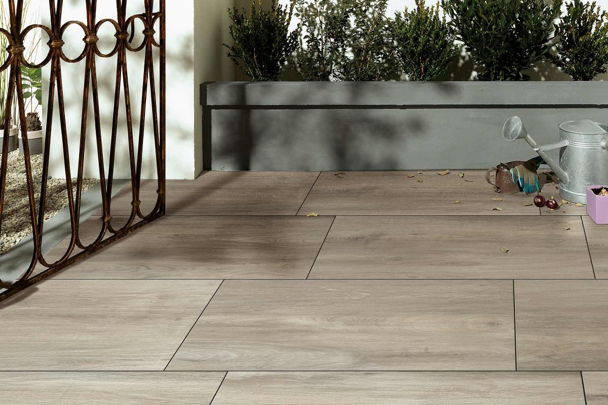 Inspiration Terrassenplatten Feinsteinzeug 5