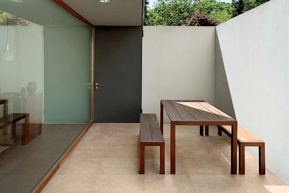 Inspiration Terrassenplatten Feinsteinzeug 2