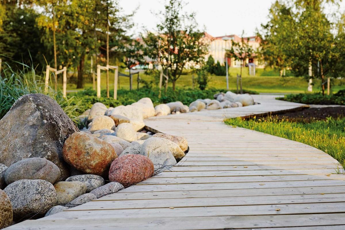 Welk terras kiezen   houten vlonder   HORNBACH