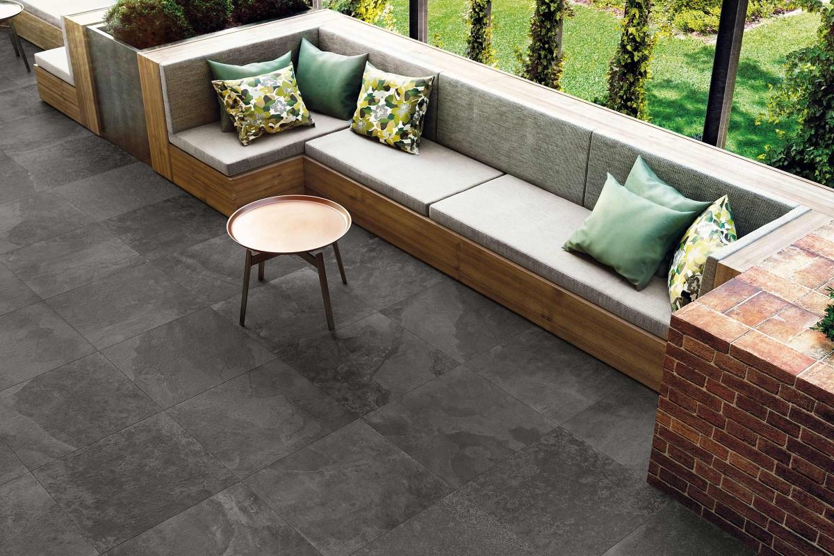 Inspiration Terrassenplatten Feinsteinzeug 9