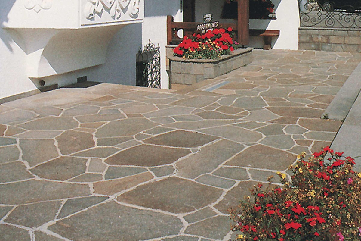 Inspiration Terrassenplatten Naturstein 2