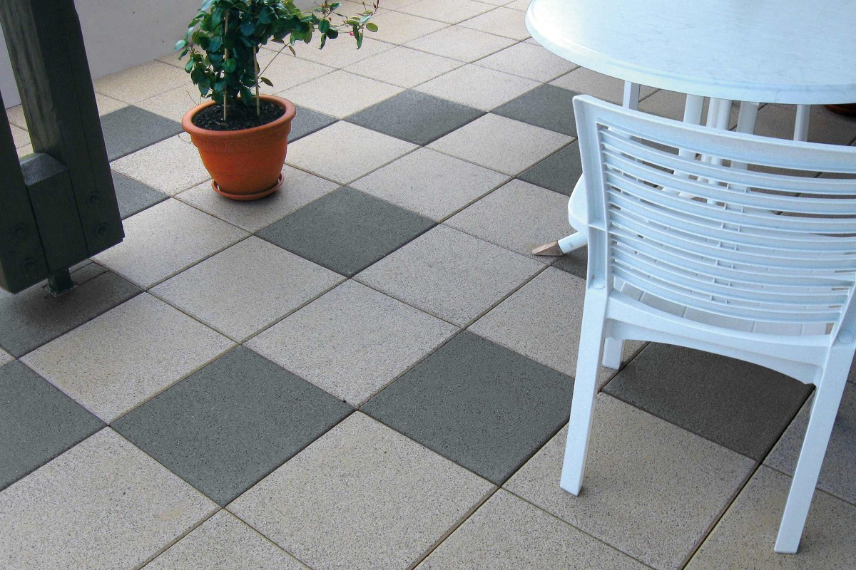 Inspiration Terrassenplatten Beton 14
