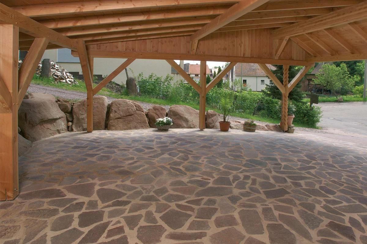 Inspiration Terrassenplatten Naturstein 3