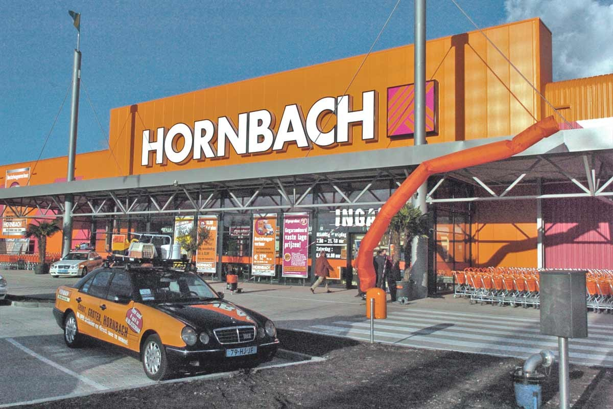HORNBACH bouwmarkt Alblasserdam . Vestiging Kelvinring 60 2952 BG