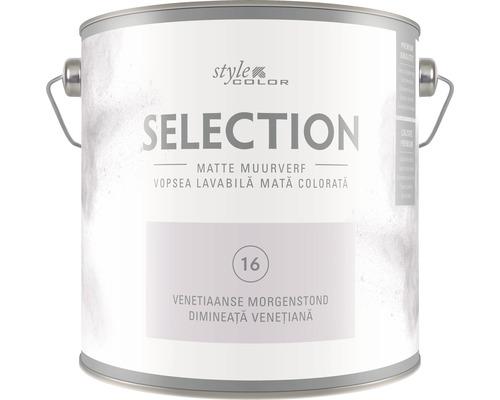 SELECTION StyleColor Muurverf kleur 16 Venetiaanse morgenstond 2,5 l