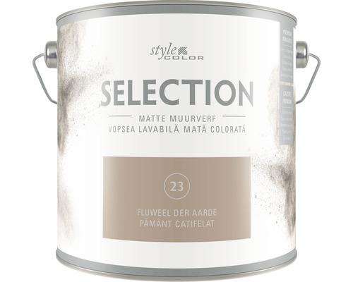 SELECTION StyleColor Muurverf kleur 23 Fluweel der aarde 2,5 l
