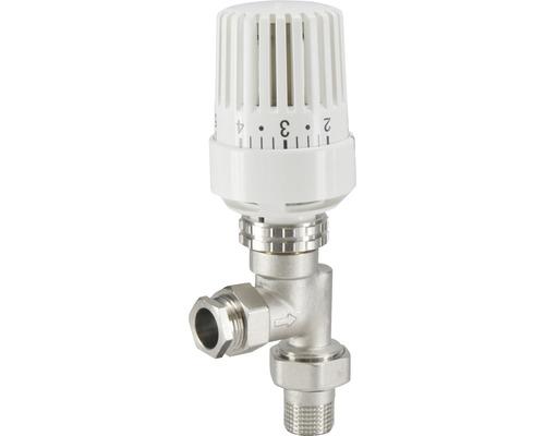 Thermostatische radiatorventiel axiaal