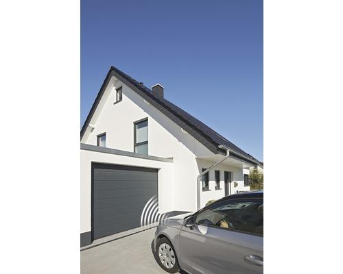 Sectionaal Garagedeur Isomatic Antraciet 2500x2125 Mm Elektrisch Kopen Bij Hornbach