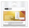 KLIKAANKLIKUIT® Gong en beldrukker ACDB-7000AC wit, draadloos