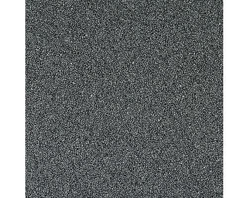 Vinyl Sambia gemeleerd zwart/grijs 200 cm breed (van de rol)