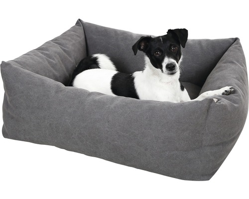KERBL Hondenmand Lucca grijs 85x70 cm