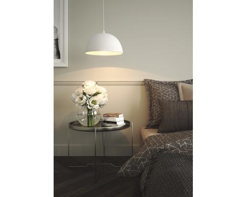 FLAIR Hanglamp Nashira Ø 40 cm wit/zilver