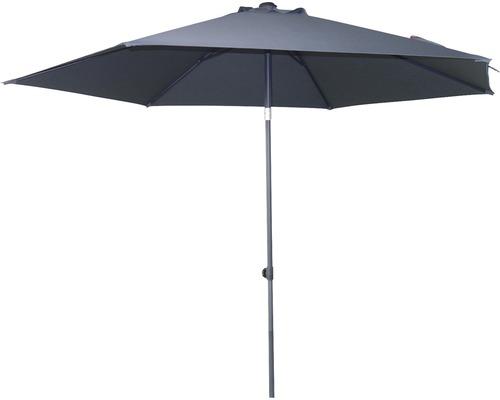 SOLUNA Parasol Dijon grijs Ø 300 cm