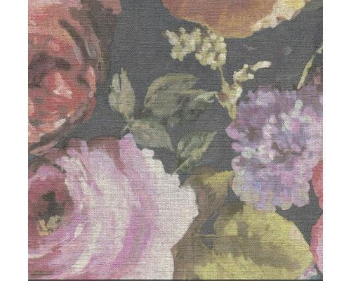 BARBARA HOME COLLECTION Vliesbehang 527865 Barbara Home Collection bloemen rood/blauw