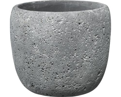 SOENDGEN Bloempot Bettona cement Ø 14 h 12 cm donkergrijs