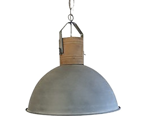 CHERICONI Hanglamp Woody Ø 40 cm hout-betonlook