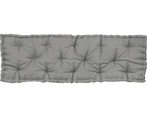 SOLEVITO Zitkussen katoen grijs 40x120 cm