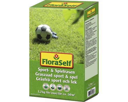 FLORASELF® Graszaad Sportgazon & Speelgazon, 50 m²