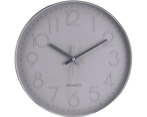 Klok Time lichtgrijs ø 30,5 cm