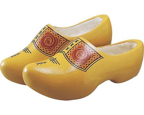 GEVAVI Klompen Farmer hout geel 24 cm