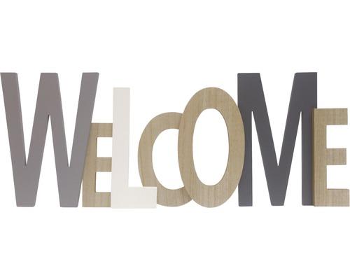 Wanddecoratie Tekst Welcome Hout 76x29 Cm Kopen Bij Hornbach