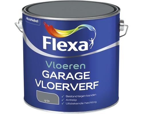 FLEXA Garagevloer verf grijs 2,5 ltr