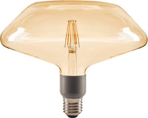 FLAIR LED Filament E27/4W halve cirkel amber