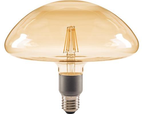 FLAIR LED Filament lamp E27/4,5W paddestoel amber