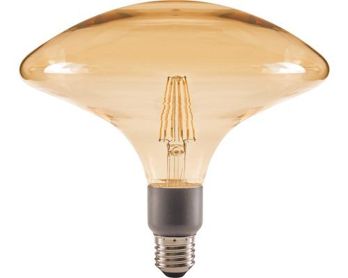 FLAIR LED Filament E27/4W cirkelvorm amber