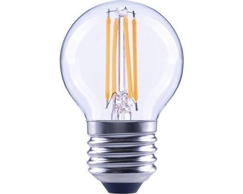 FLAIR LED Filamentlamp E27/5W kogelvorm helder
