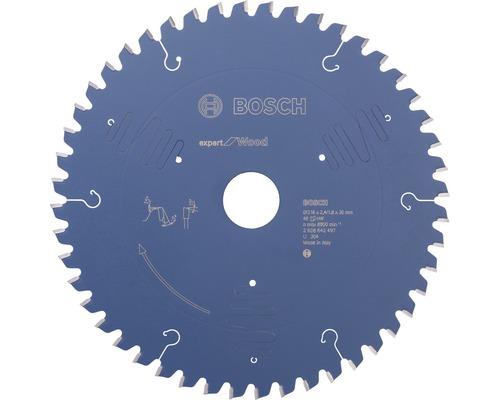 BOSCH Cirkelzaagblad Expert for Wood Ø 216x30x2,4 mm 48T
