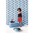 RASCH Vliesbehang 531510 Bambino XVIII walvissen blauw