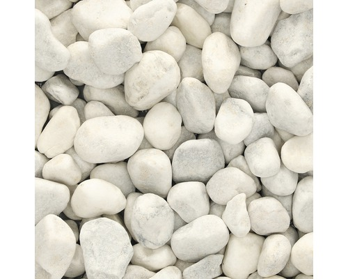 EXCLUTON Siergrind Carrara split wit 40-60mm 25 kg per zak = PALLET van 48 zakken