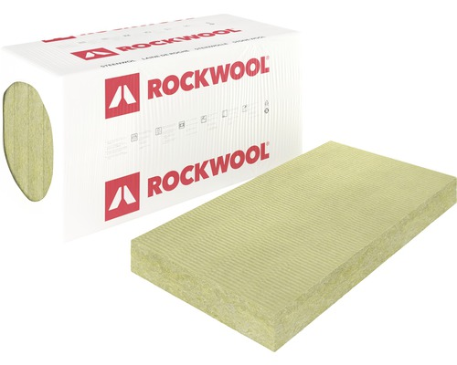 ROCKWOOL Steenwol RockSono Base bouwplaat Rd 1,35 1200x600x50 mm