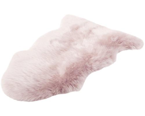 Schapenvacht roze 90x60 cm