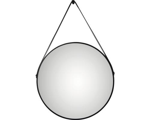 Designspiegel Black Belt Ø50 cm