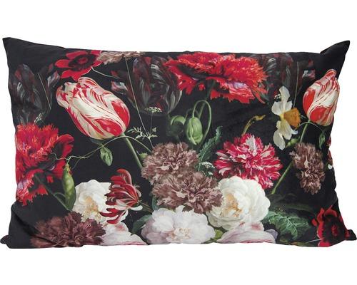SOLEVITO Kussen Bloemen rood 40x60 cm
