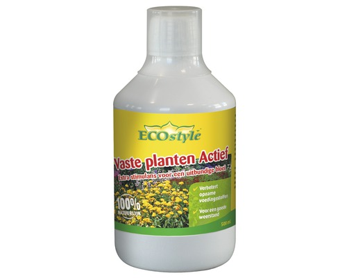 ECOSTYLE Vaste planten actief 500 ml