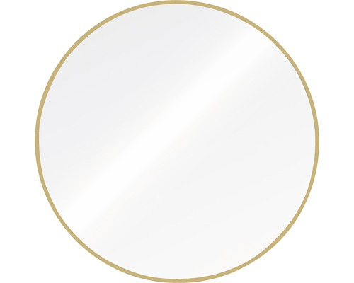 THE WALL Spiegel Bern goud ø 60 cm