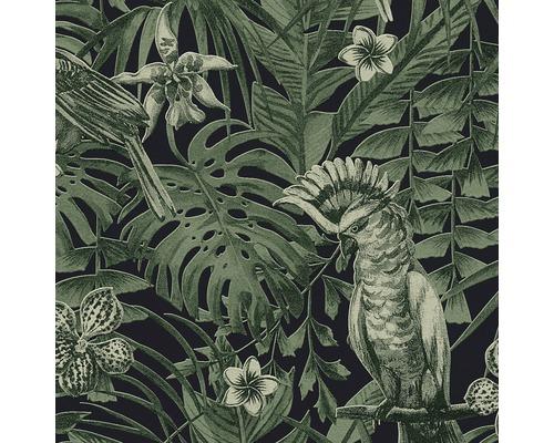 A.S. CRÉATION Vliesbehang 37210-1 Greenery Jungle groen/zwart