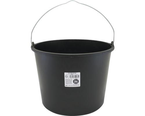 Bouwemmer, rond 12 liter
