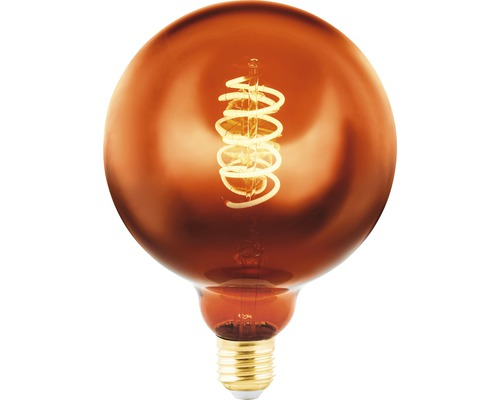 EGLO LED Filament lamp E27/4W G125 koper