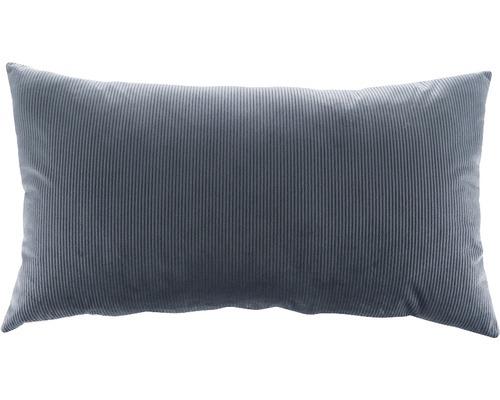 SOLEVITO Kussen Kord grijs 40x70 cm