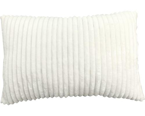 SOLEVITO Kussen Rib wit 40x60 cm
