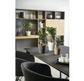 SOENDGEN Bloempot Dallas Style keramiek Ø 21 h 21 cm antraciet