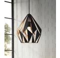 EGLO Hanglamp Carlton 1 Ø 31 cm zwart-koper