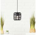 BRILLIANT Hanglamp Crosstown Ø 16 cm zwart