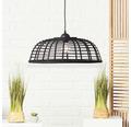 BRILLIANT Hanglamp Crosstown Ø 47 cm zwart