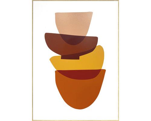 Schilderij met lijst Schalen 51,2x71,2 cm